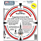 Super Antenna SW1 SuperWhip Titanium Flex Whip
