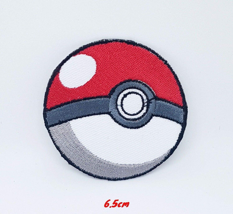 Gadgetsglobal Pokemon Pokeball Jeu Dessin Anime Fer Brode Sur Patch Amazon Fr Cuisine Maison