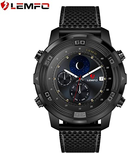 Amazon.com: LEMFO lem6 Smart Watch, LEMFO LEM 6 Brújula ...
