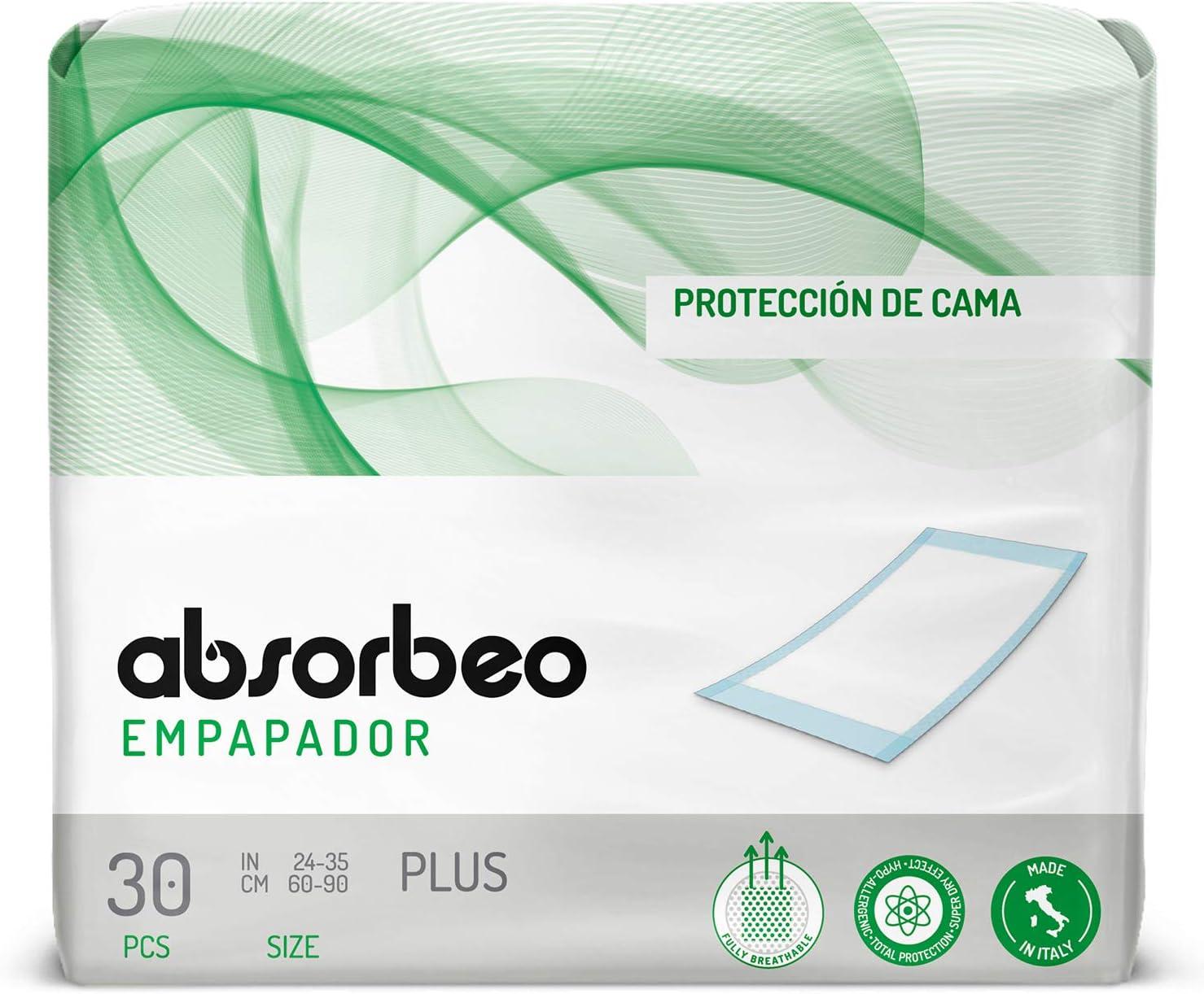 Empapador Plus – Protección de Cama, 60 X 90 cm (30 protecciones x paquete)