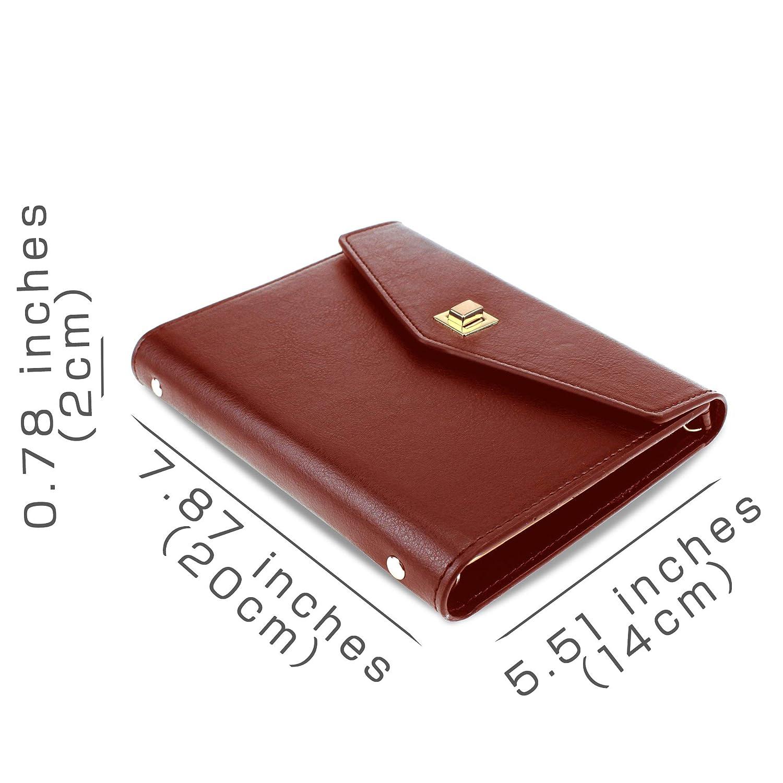 SynLiZy A6 Agenda Organizadore personale Planificadore Cuaderno planificación