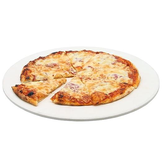 BBQ-Toro - Piedra Redonda para Pizza (38 cm de diámetro, Piedra ...