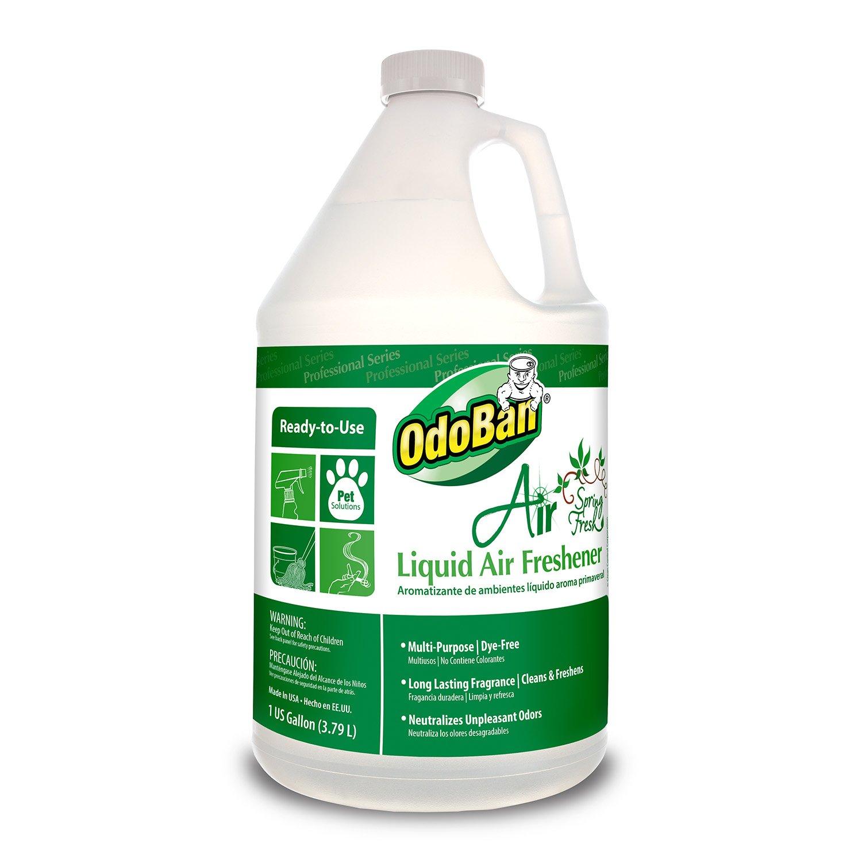 odoban 977462 g rtu air spring fresh liquid air freshener 1 gallon bottle home garden household. Black Bedroom Furniture Sets. Home Design Ideas