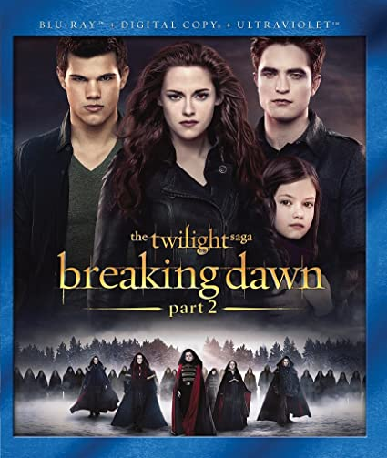 Twilight Saga: Breaking Dawn - Part 2 Edizione: Stati Uniti Reino Unido Blu-ray: Amazon.es: Kristen Stewart, Robert Pattinson, Taylor Lautner, Peter Facinelli, Elizabeth Reaser, Ashley Greene, Jackson Rathbone, Kellan Lutz, Nikki Reed,