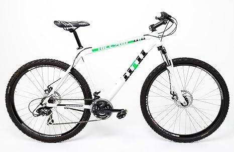 Mifa Crosser - Bicicleta MTB de aluminio , 21 velocidades, frenos ...