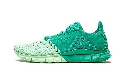 the latest b35c8 f2fb7 Nike Mens Free Inneva Woven II SP Verde Vapor Green Woven Size 9