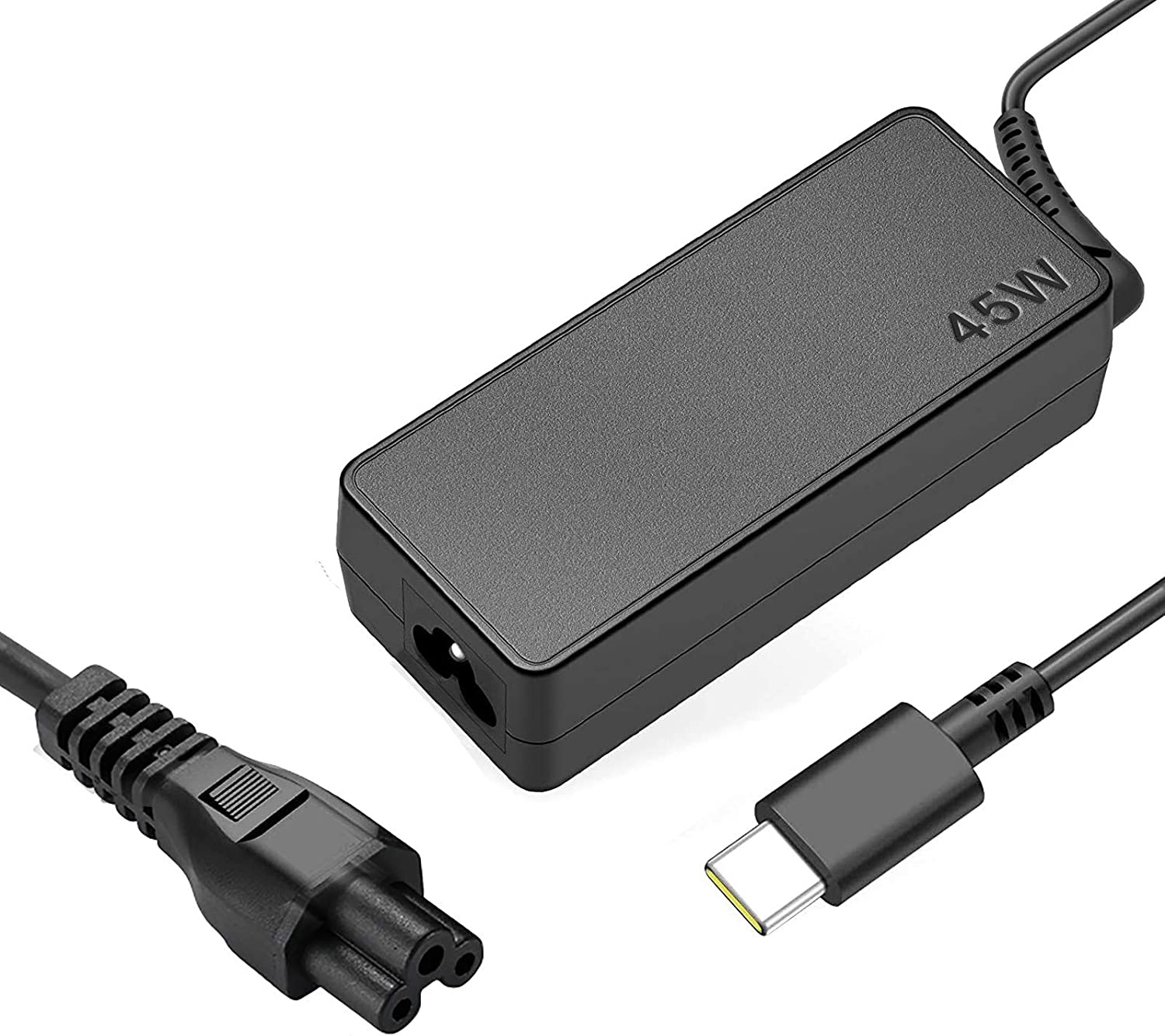 45W USB-C Charger for Lenovo Yoga C630 C940 C910 720 720-13IKB 720S 730 730-13ik 920 920-13ikb Chromebook S330 C330 330e 100e N23 ThinkPad X1 Carbon T470s T480 T480s T580 T580s AC Adapter Power Supply