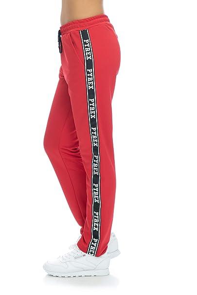 9c226a397b Pyrex Pantalone Tuta Donna Rosso: Amazon.it: Abbigliamento