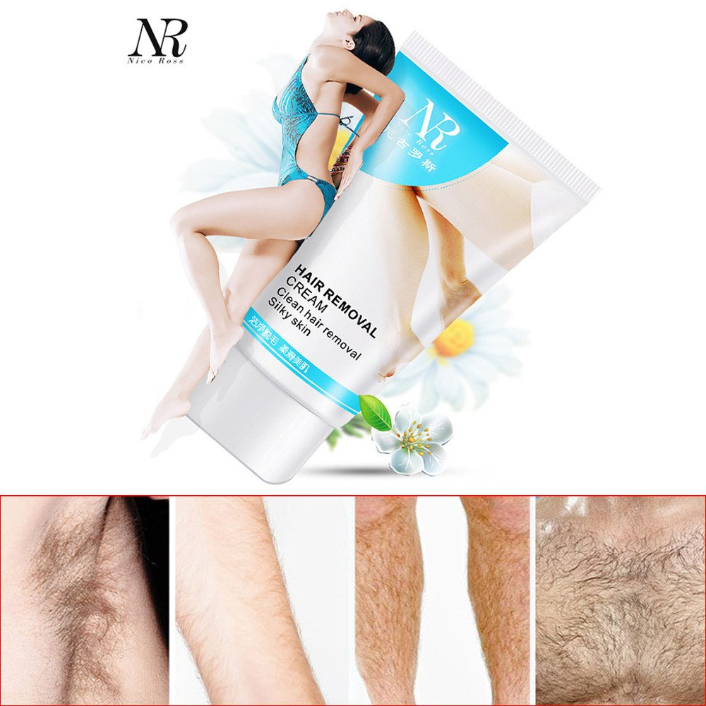 Powerful Permanent Hair Removal Cream Depilatory Bubble Cream for Women And Men,Outsta Stop Hair Growth Inhibitor Removal Used on Body, Leg,Hand, Armpit (White)