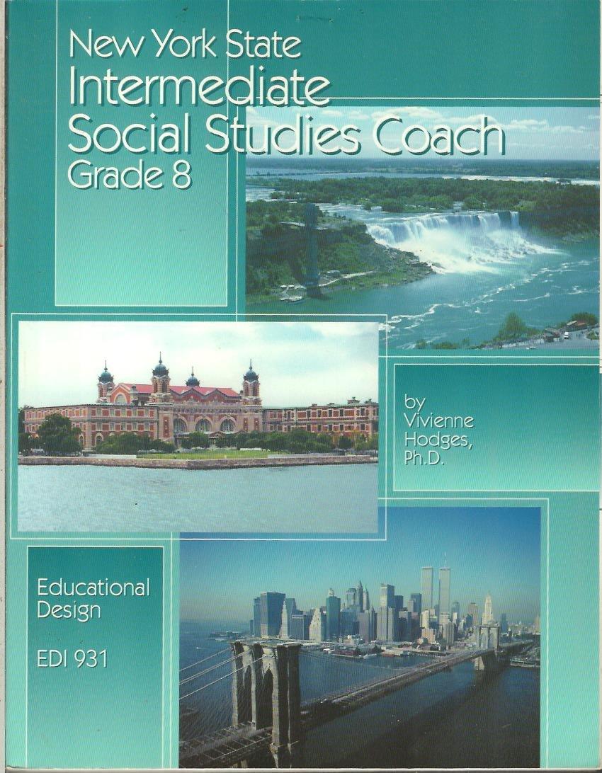 Download New York State intermediate social studies coach, grade 8 ebook