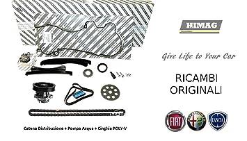 Kit cadena distribución original Fiat + Bomba Agua + Correa Software 1.3 Multijet