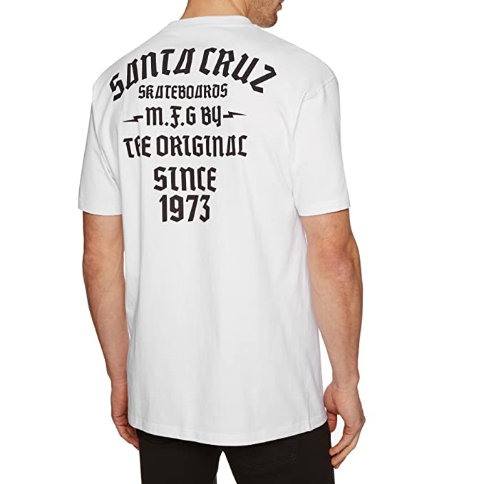 Santa Cruz Camiseta Blackletter Blanco ozoVk1 - lonepursuits.com 6f7ebd628ffa2