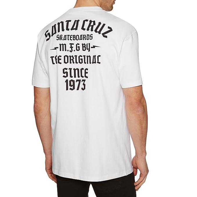 Santa Cruz Camiseta Blackletter Blanco ozoVk1
