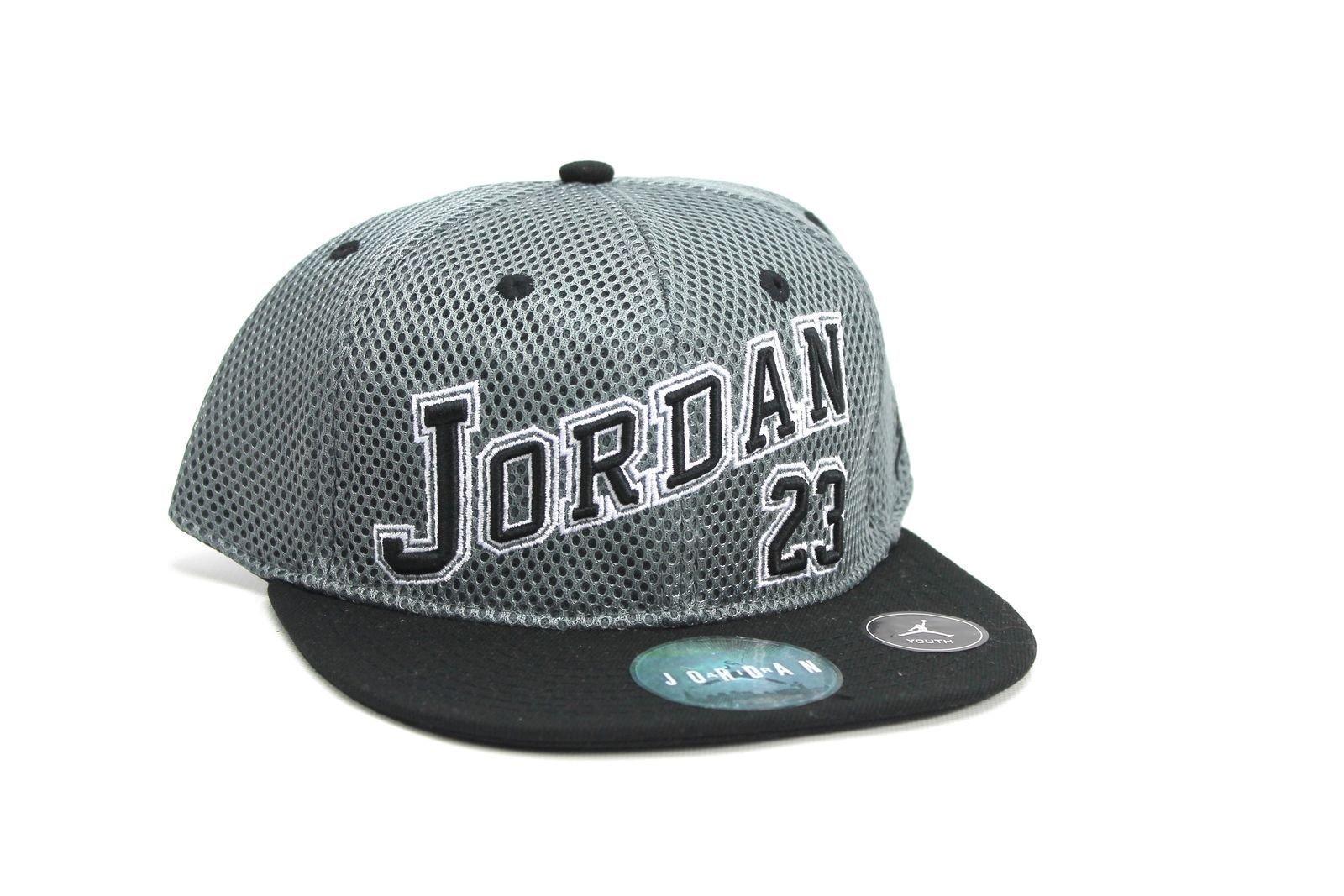 NIKE Air Jordan Cool Grey Boys Snapback Hat