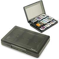 Insten 28-in-1 Game Card Case Compatible with Nintendo NEW 3DS / 3DS / DSi / DSi XL / DSi LL / DS / DS Lite Cartridge Storage Solution Box, Black