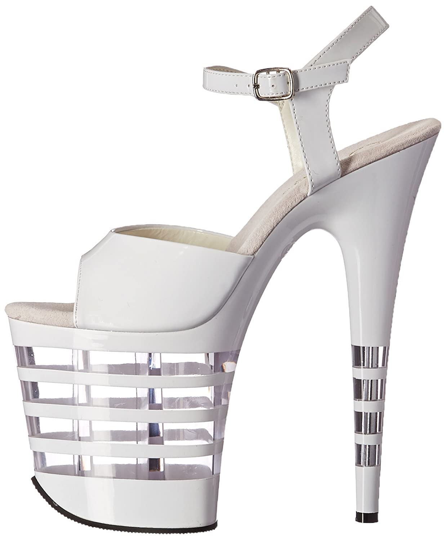 Pleaser Womens Flam889ln//w//m Platform Sandal