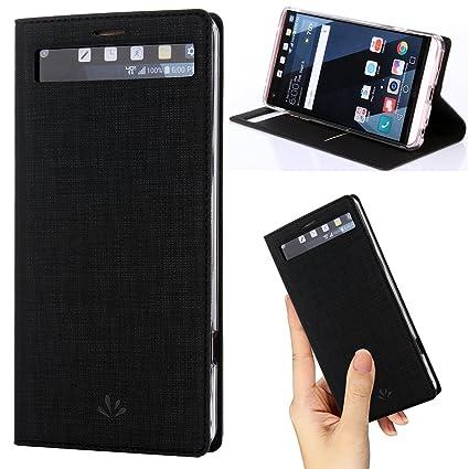 Amazon.com: Funda para LG V20, funda de piel sintética con ...