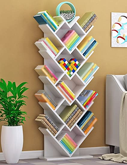new arrival d2447 4c48d Amazon.com: Shelves Tree Bookshelf Wood Children's Bookcase ...