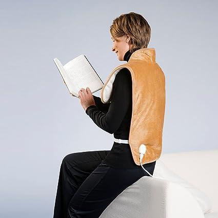 Chaleco almohadilla eléctrica para hombros y espalda