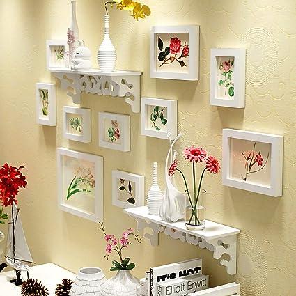 774c11576108 Buy WollWoll Flowers Art with Wall Shelf Sofa Background Large Photo ...
