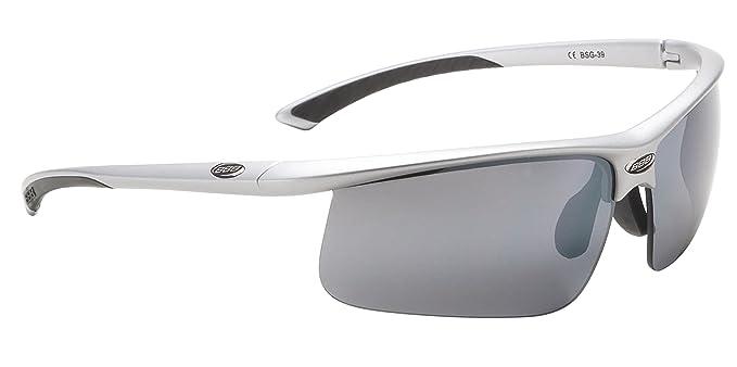 BBB Winner BSG-39 - Gafas deportivas de sol unisex, color plata, talla
