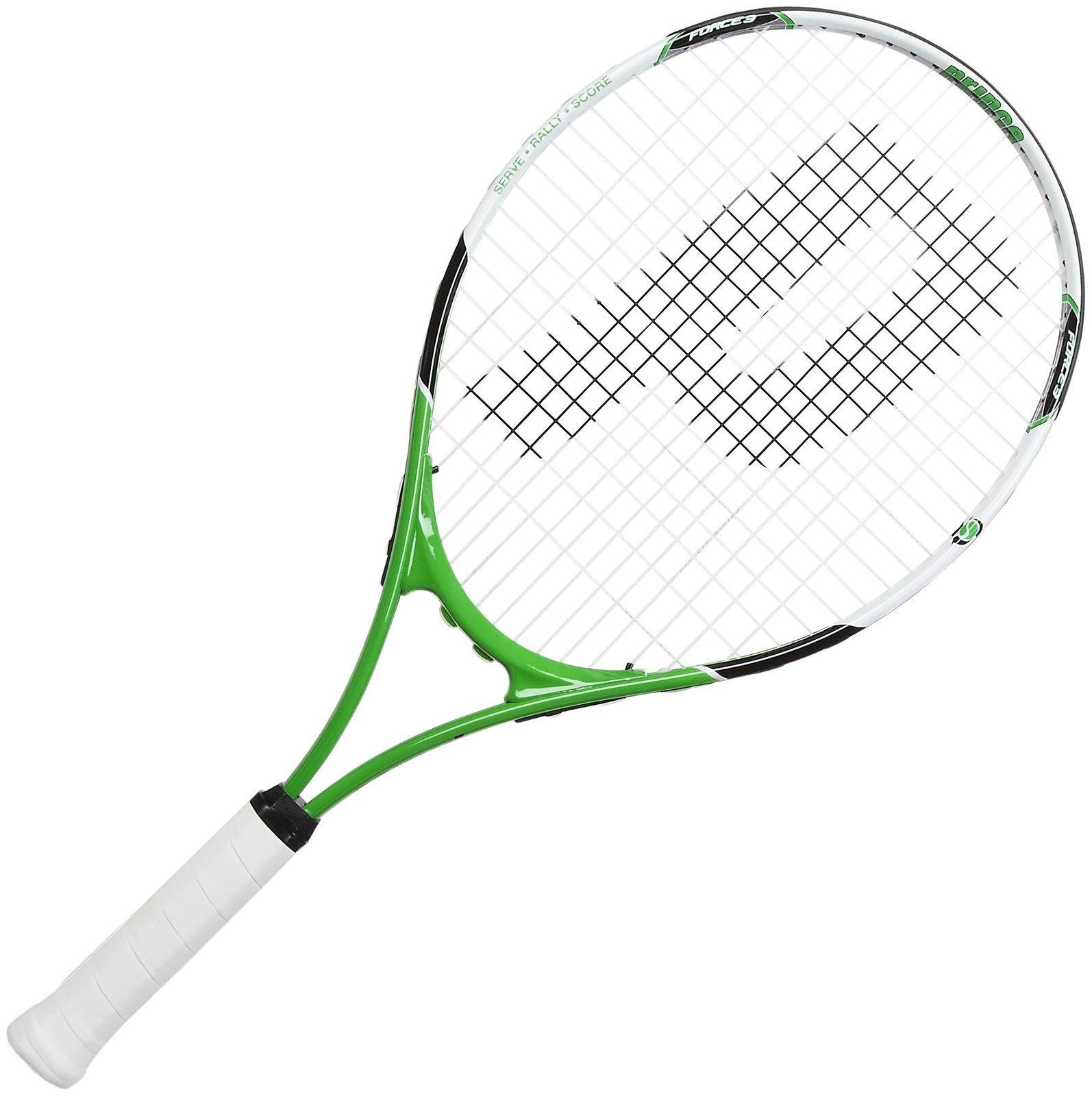 Prince 2013 Junior Play & Stay Tennis Racquet, 25 - Green/Black