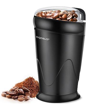Aigostar Breath 30CFR - Molinillo compacto de café, especias, semillas o granos, 150