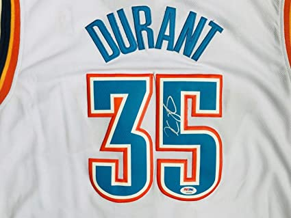 ed8c52111 Image Unavailable. Image not available for. Color  Kevin Durant Autographed  Signed Memorabilia Oklahoma City Thunder Adidas Swingman Jersey ...