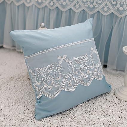 Amazon Abreeze Girls Bedroom Throw Pillows Decorative Bed Cool Decorative Bed Pillows Blue