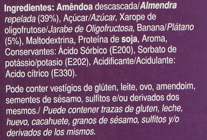 GoldNutrition Endurance Fruit Bar Suplemento Deportivo, Sabor Plátano y Almendra - Paquete de 35 x 40 gr - Total: 1400 gr: Amazon.es: Salud y cuidado ...