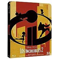 Pixar Increibles 2 Edición Metálica 3D [Blu-ray]