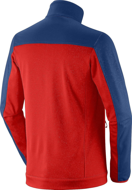 Amazon.com: Salomon de los hombres cruz FZ 2 chaqueta: Clothing