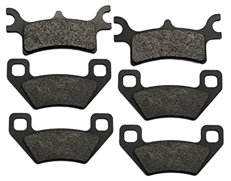 2003-2005 Polaris Sportsman 600 4x4 Rear Brake Pads