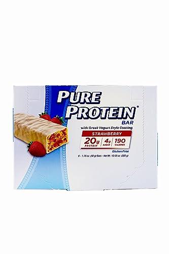 Pure Prot Strwbry Ygurt C Size 6ct Pure Protein Strwbry Ygurt Bar 1.76z
