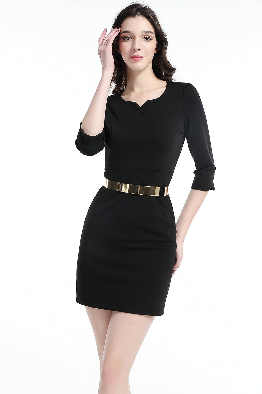 elastica sottile cintura decorativa da donna Babeyond in metallo elasticizzata