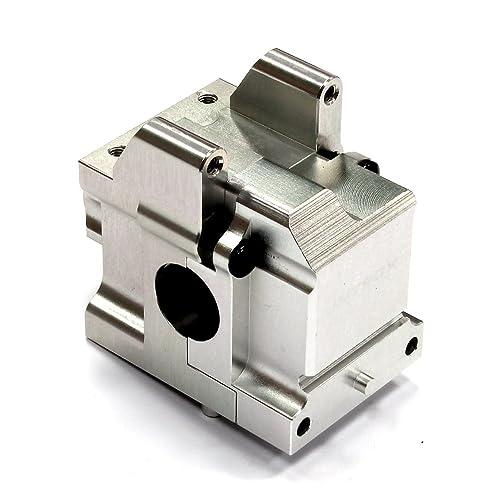 Integy RC Model Hop-ups T8681SILVER Billet Machined Gear Box for HPI Ken Block WR8 Flux & WR8 3.0