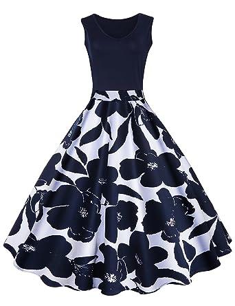 Kleid damen knielang