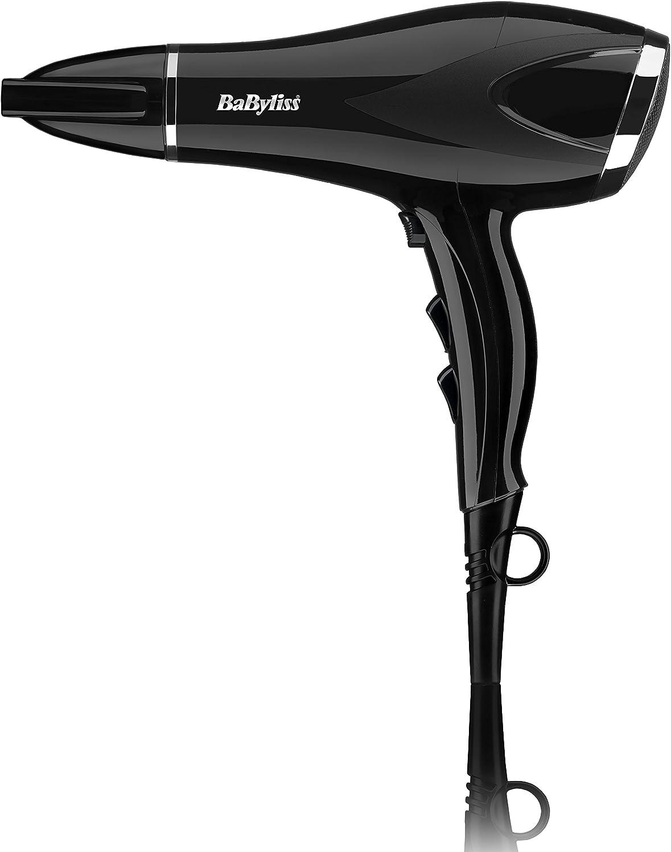 BaByliss® SALON PRO 2000 Professional Lightweight Styling Electric Hair Dryer Hairdryer 2000W Black