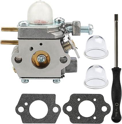 Carbruetor kit for MTD Troy Bilt 41ADY20C799 BL110 BL160 RM2510 YM21CS Trimmer