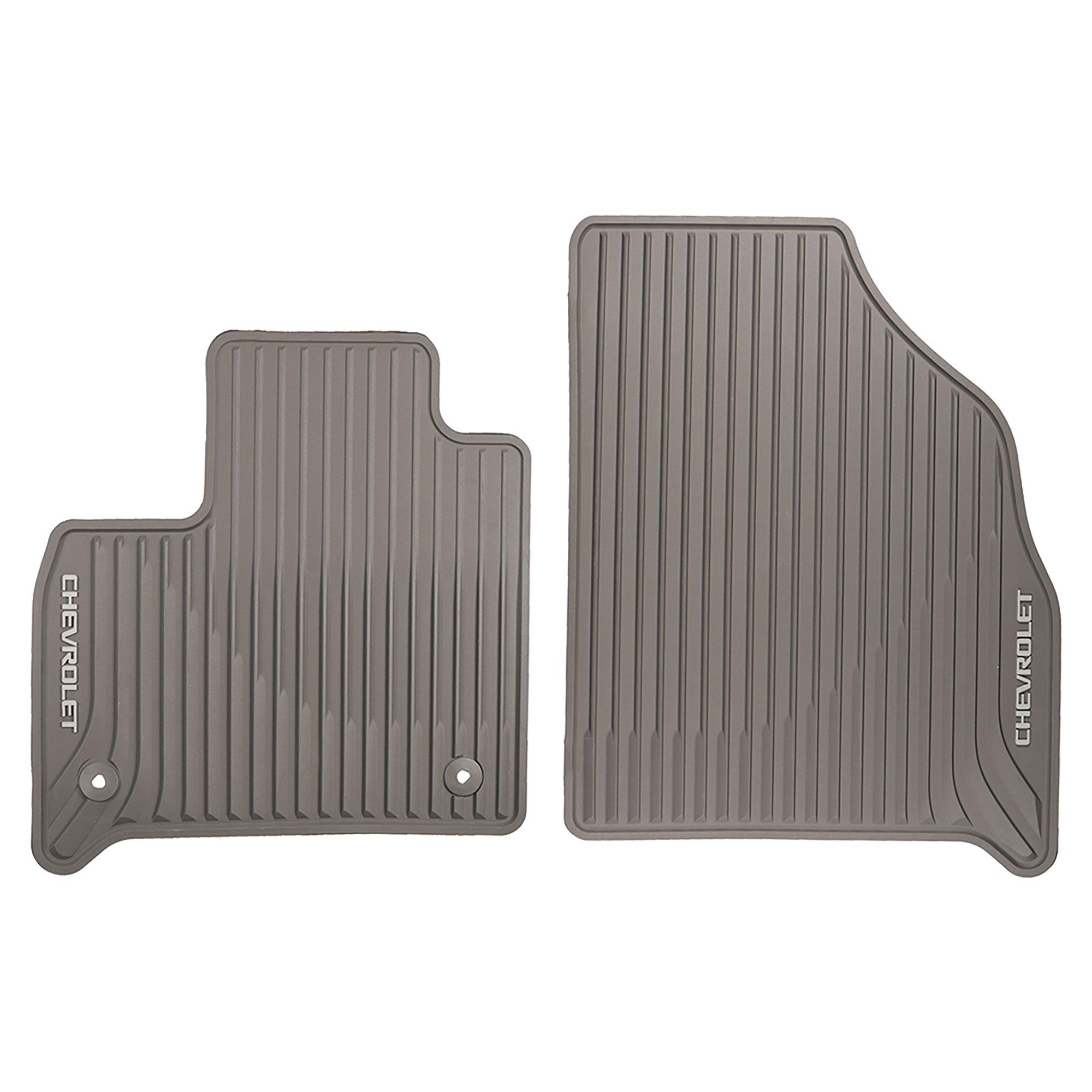 GMC OEM New Front All Weather Premium Rubber Floor Mat w/Logo 2018 Traverse 84162516