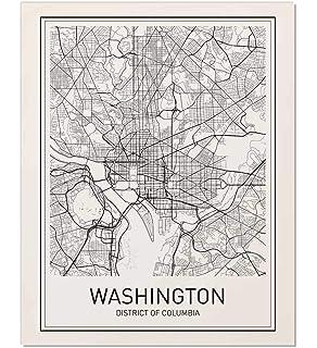 Amazon.com: Washington DC Neighborhoods Map Art Poster ... on austin map art, toronto map art, south dakota map art, sf map art, wv map art, idaho map art, tennessee map art, massachusetts map art, arkansas map art, virginia map art, colorado map art, new jersey map art, nebraska map art, az map art, wisconsin map art, baltimore map art, atlanta map art, mississippi map art, la map art, sc map art,