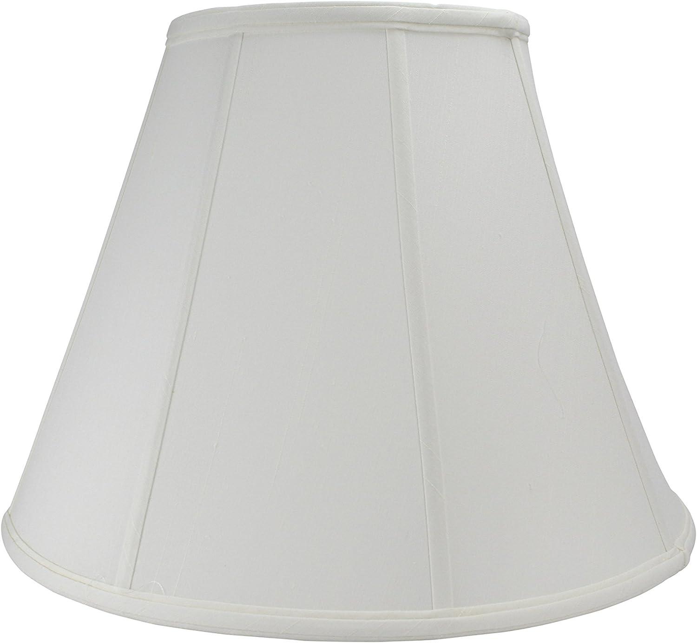 Deep Empire Shantung Silk White Softback Lamp Shade 16 Inch By Upgradelamps Amazon Com