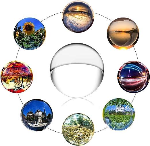 Ideapark K9 - Bola de Cristal Transparente para decoración de ...