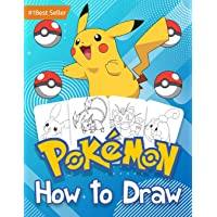 How to Draw Pokemon: Book Drawing Sketchbook For Kids Learn Make Art Girls and Boys 4-8 6-8 8-12 9-12 Years Age Old Toy…