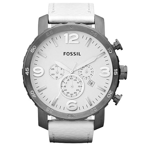 77ff452104cf Fossil JR1423 - Reloj cronógrafo de cuarzo para hombre con correa de piel