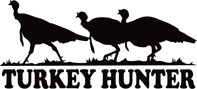 Turkey Decal MD#1 Bird Hunting Vehicles Window Graphic Sticker