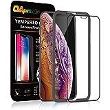 OAproda iPhone XR 強化ガラスフィルム 液晶全面保護【 ケースに干渉しない】ガイド枠付き/存在感ゼロ/画面鮮やか高精細(アイフォンxr 6.1インチ 用 フィルム)
