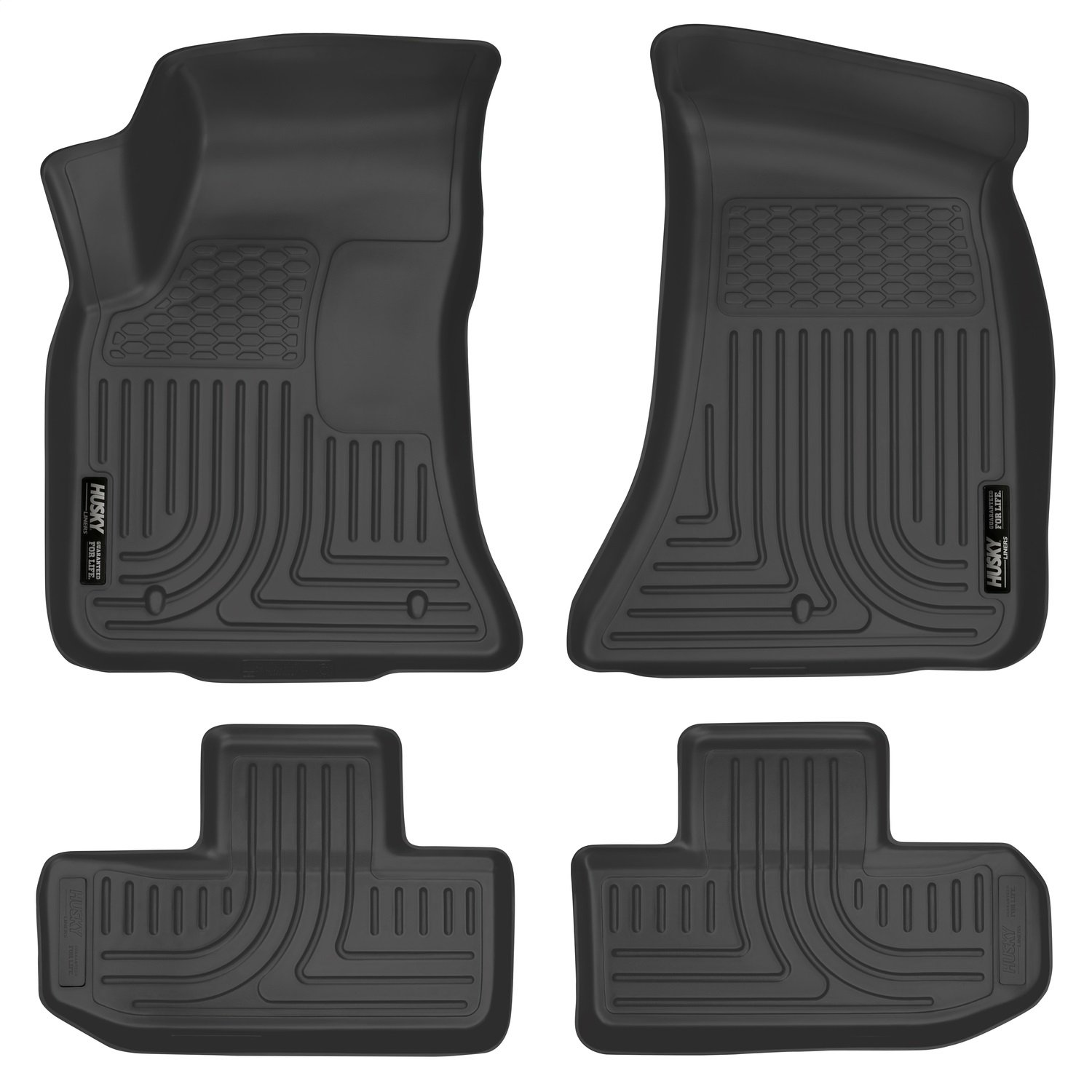 Husky Liners Front & 2nd Seat Floor Liners Fits 16-18 Challenger 99171