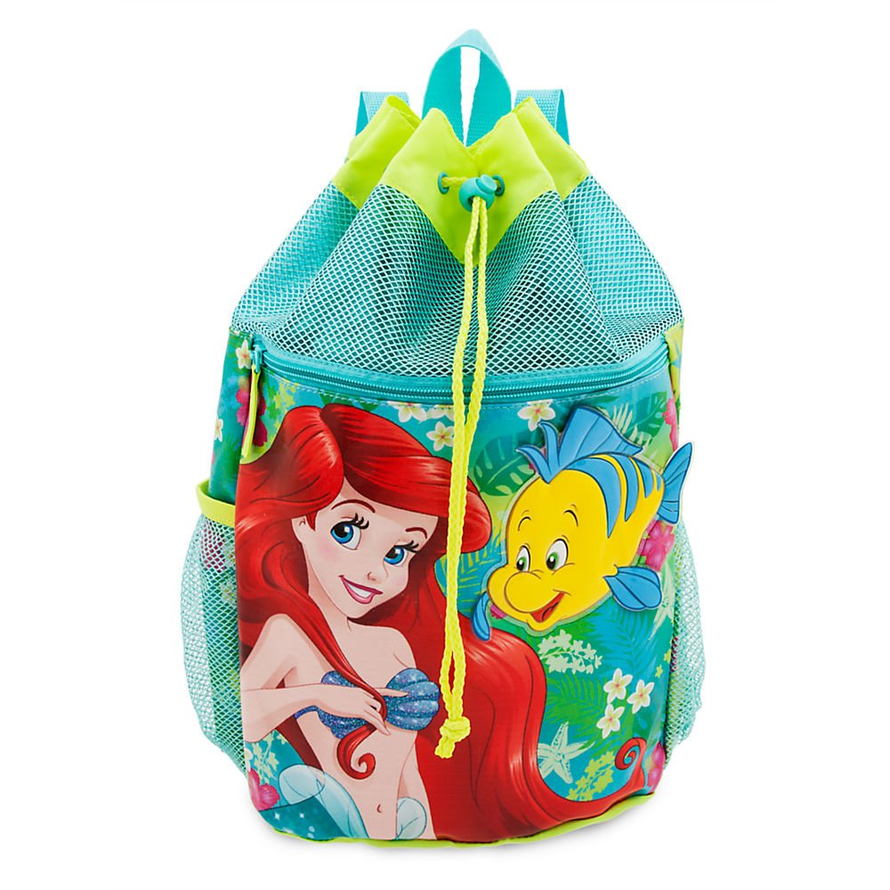 Disney Ariel Swim Backpack Green 427242333442