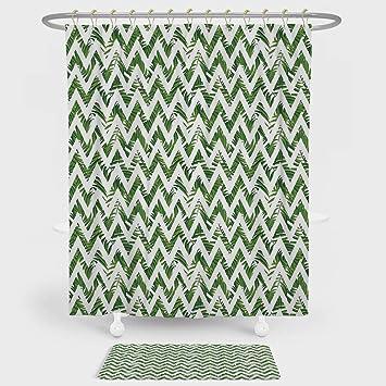 IPAQ Paisley Decor Vorhang Für Die Dusche Boden Matte Kombination Set Moderne  Mosaik Wie Eingekreist Design